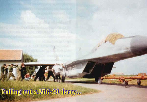 """LECCIONES APRENDIDAS PARA LA FAP: GUERRA DE YUGOSLAVIA 1999 ( Caso: Escuadron de caza MIG-29 """"VITEZOVI""""  ) - Página 2 Mig-29-5"""