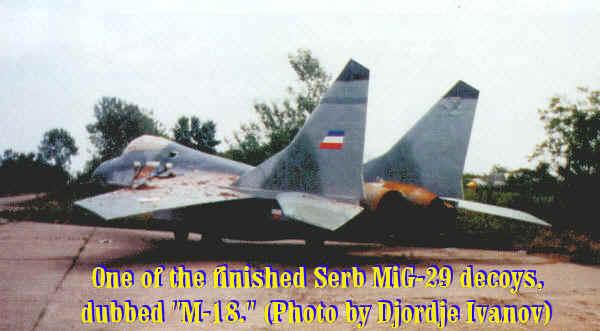 """LECCIONES APRENDIDAS PARA LA FAP: GUERRA DE YUGOSLAVIA 1999 ( Caso: Escuadron de caza MIG-29 """"VITEZOVI""""  ) - Página 2 Mig-29-6"""